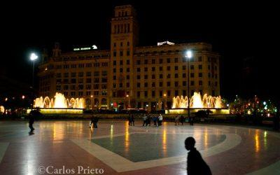 Plaça Catalunya o la dificultad de fotografiar